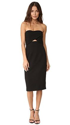 For your curated closet this Black Halo Women's Jada Cutout Dress - in crepe