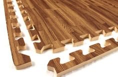 "5/8"" Soft Wood Tiles – Decorative Foam Flooring"