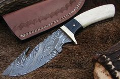HANDMADE DAMASCUS STEEL GUTHOOK KNIFE for more visit my online store  http://agknivesstore.tictail.com/