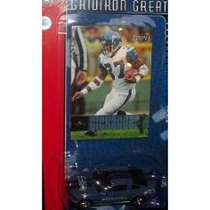 Seattle Seahawks Ford Mustang GT 2006 Upper Deck 1 64 Scale NFL Diecast Collectible with Shaun Alexander Trading Card Football Team Collectible by NFL  $1.49