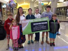 Welcome Home Banner For Sister Missionary | www.signs.com #lds