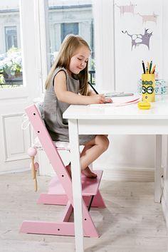 Der Kinderzimmer-Klassiker: Möbel, die mitwachsen. Picture: www.Stokke.com