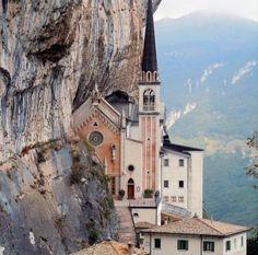 MS | Santuario Madonna della Corona, Spiazzi, Verona, Italy