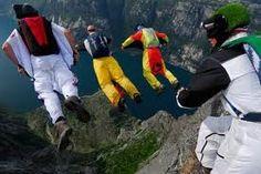 Base jumping. My next adventure!