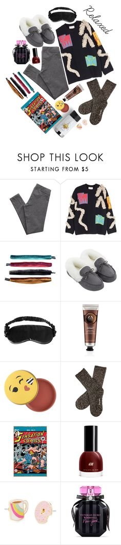 """Relaxed"" by maddythestoken ❤ liked on Polyvore featuring Aerie, Peter Pilotto, Cynthia Rowley, Slip, The Body Shop, Sephora Collection and Victoria's Secret"