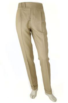 Pantalón P3 2P 9000 - Beige Composición: 100% lana. Color Beige