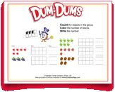 Play #counting and #writing #games with your #kids! Download this #free #printable today! #DumDums. Download more kid-friendly printable activities at DumDumPops.com! Writing Games, Counting Games, Free Printable, Coloring Pages, Activities For Kids, Printables, Play, Quote Coloring Pages, Children Activities