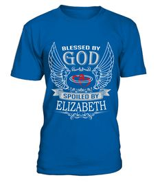 # ELIZABETH BLESSED BY GOD BACK .  ELIZABETH BLESSED BY GOD BACK    https://www.teezily.com/stores/alizabeth-tshirt-nameA GIFT FOR A SPECIAL PERSON     It's a unique tshirt, with a special name!     HOW TO ORDER:   1. Select the style and color you want:   2. Click Reserve it now   3. Select size and quantity   4. Enter shipping and billing information   5. Done! Simple as that!   TIPS: Buy 2 or more to save shipping cost!     This is printable if you purchase only one piece. so dont worry…