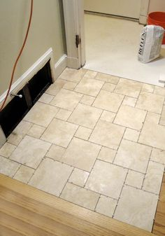 Enjoyable Travertine White Porcelain Bathroom Floor Tile Ideas As Decorate Contemporary Bathroom Design