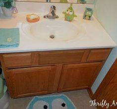 s 11 low cost ways to replace or redo a hideous bathroom vanity, bathroom ideas, painted furniture, plumbing