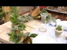 Planes decorativos para la mesa de Navidad