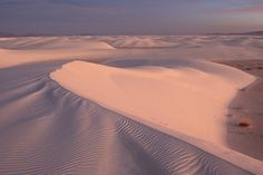 White Sand Natural Monument. Estados Unidos