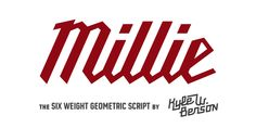 Millie Font | Webfont & Desktop | MyFonts Great Fonts, New Fonts, Font Search, Letter Case, Milwaukee Tools, Font Names, Typography, Lettering, Free Fonts Download
