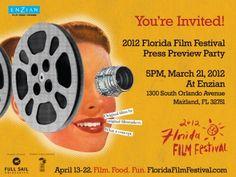 2012 Florida Film Festival Press Preview Party