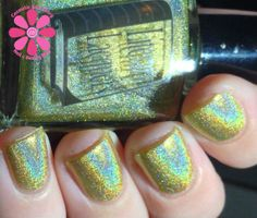 Mr. Darcy is better than Gold! Swatched by Cosmetic Sanctuary #literarylacquers #gloss48 #exclusive @Gloss48