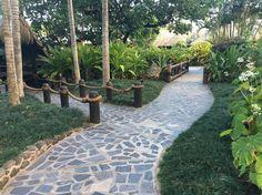 #nofilter ##pacificresort #pathway over the #bridge to #Muri #lagoon #Rarotonga #cookislands