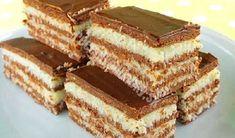 Sladké maškrty Archives - Page 25 of 88 - Recepty od babky Hungarian Desserts, Hungarian Recipes, Köstliche Desserts, Delicious Desserts, Dessert Recipes, Baking Recipes, Cookie Recipes, Kreative Desserts, Biscuit Cake