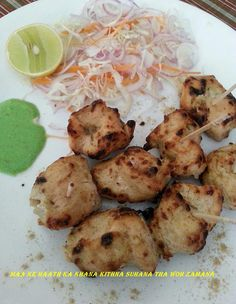 MALAI KEBABS, for recipe click the link below- https://www.facebook.com/433851030056899/photos/pb.433851030056899.-2207520000.1412171929./508157412626260/?type=3&theater