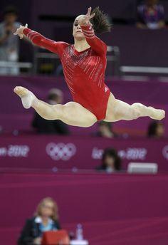Team Finals-Jordyn Wieber on floor-London Olympics: USA Women Win Gymnastics Gold