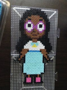 Connie - Steven Universe Perler beads by MaddieMads21