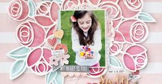 Creating A Family Recipe Scrapbook – Scrapbooking Fun! Recipe Scrapbook, Scrapbook Titles, Scrapbook Page Layouts, Scrapbook Cards, Photo Layouts, Birthday Scrapbook, Baby Scrapbook, Scrapbooking 101, Silhouette Cameo Projects