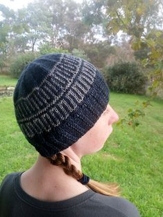 A lovely 2 colour stranded colourwork. 8 rows, repeats depending on size. Beanie Pattern, Mosaic Patterns, The Crown, Stitch Markers, 2 Colours, Kylie, Ravelry, Knitted Hats, Pattern Design