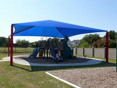Shade structures for playgrounds protect children from skin cancer risk with sun shade canopies blocking up to 98% of the harmful UV rays offering maximum protection from the sun.