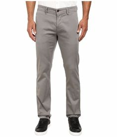 Hugo Boss Orange Men's Schino Regular Fit New Chinos Pants Gray 32 32 NWT $185 #HUGOBOSS #KhakisChinos