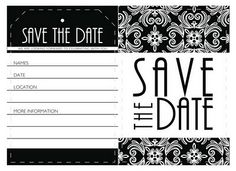 Free downloadable save the date cards...