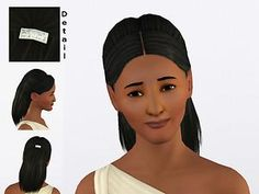 Mod The Sims - Unadorned: 12 Accessory-free, Inspiration Set Hairs