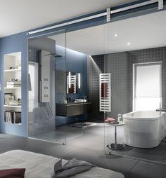 Bath Trends, Barn House Plans, Wall Tiles, Clear Glass, Mirror, Shower, Luxury, Bathtub Refinishing, Residential Construction