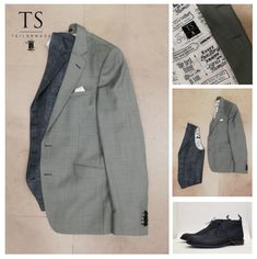 TS Tailormade herenmode Suit Jacket, Breast, Blazer, Suits, Jackets, Men, Fashion, Down Jackets, Moda