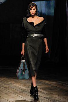 Prada Fall 2013 Ready-to-Wear Fashion Show - Catherine McNeil