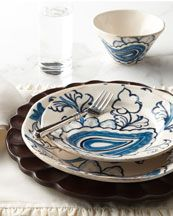 I can't wait to have my own house and get cute paisley dishes