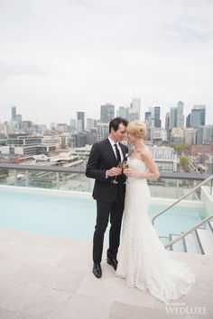 Chic Toronto Cityscape - Gold and jewel tones - WedLuxe – Rooftop Romance | Photography by: Blynda DaCosta Photography | Production and Design by: Blast Events www.blastevents.ca