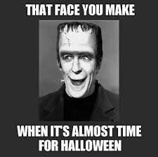 It's finally October. Kick off the most spooktacular month of the year with these hilarious Halloween memes. They're just what you need to get in the Halloween spirit. Halloween Meme, Halloween Playlist, Happy Halloween, Halloween Movies To Watch, Photo Halloween, Theme Halloween, Halloween Quotes, Halloween Pictures, Holidays Halloween