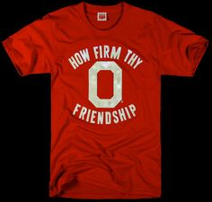 Want this shirt. Especially since a portion of proceeds go to my beloved Block O! HOMAGE Ohio State University Friendship Homecoming Carmen Ohio T-Shirt - $28.00