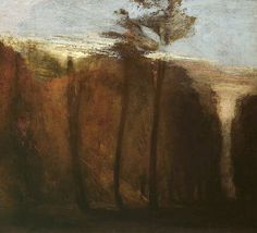 Turner - An Avenue of Trees - c.1822