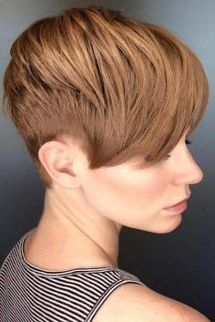 Cute Short Haircuts To Look Stunning ★ See more: http://lovehairstyles.com/cute-short-haircuts/ #cuteshorthairstyles