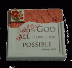 What better way to affirm your faith than with a Christian Magnet?