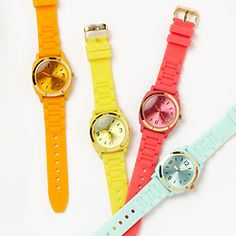 Neon Watch from Anthropologie