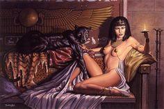 Isis, Egyptian Goddess of Magic