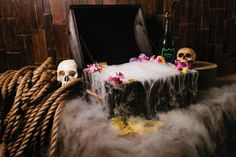 7 of the Craziest Tiki Drinks in the United States: The Treasure Chest No. 3 at Three Dots And A Dash in Chicago - $385