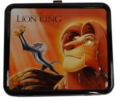 Disney Lion King Tribal Lunch Box Tin Tote >>> MORE DETAILS @ http://www.allaboutkitchenware.com/storage/100241/?nae