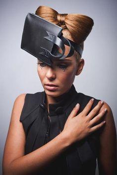 Head Accessories Marlous de Roode,  Fashion Dorrith de Roode, Photography Michael Danker, Hair and Makeup Charlotte Mailhe,