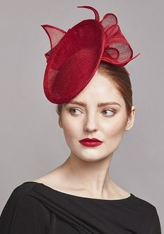 Women's Hats Rachel Morgan Spring 2018 Sinamay Straw , deep discounts, Spring and Summer Fashion great for the derby. Tea Hats, Women's Hats, Rachel Trevor Morgan, Red Fascinator, Occasion Hats, Crazy Hats, Millinery Hats, Stylish Hats, Fancy Hats