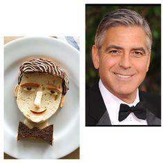 Hobbyköchin Marie Hejl verwandelt Toastbrot, Wurst und Käse in Abbilder großer Hollywood-Berühmtheiten. Das Ergebnis ist brutal lustig!