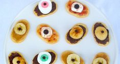 Halloween Fun Snack - Eyeball Platter!