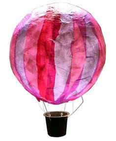 Hot air balloon lantern hot air balloon lantern - the Best of Everything Balloon Lanterns, Jar Lanterns, Balloon Decorations, Diy For Kids, Crafts For Kids, Diy And Crafts, Arts And Crafts, Birthday Balloons, Art Plastique