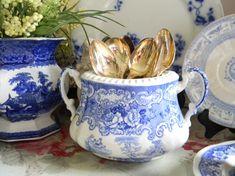 Vintage china open bowl